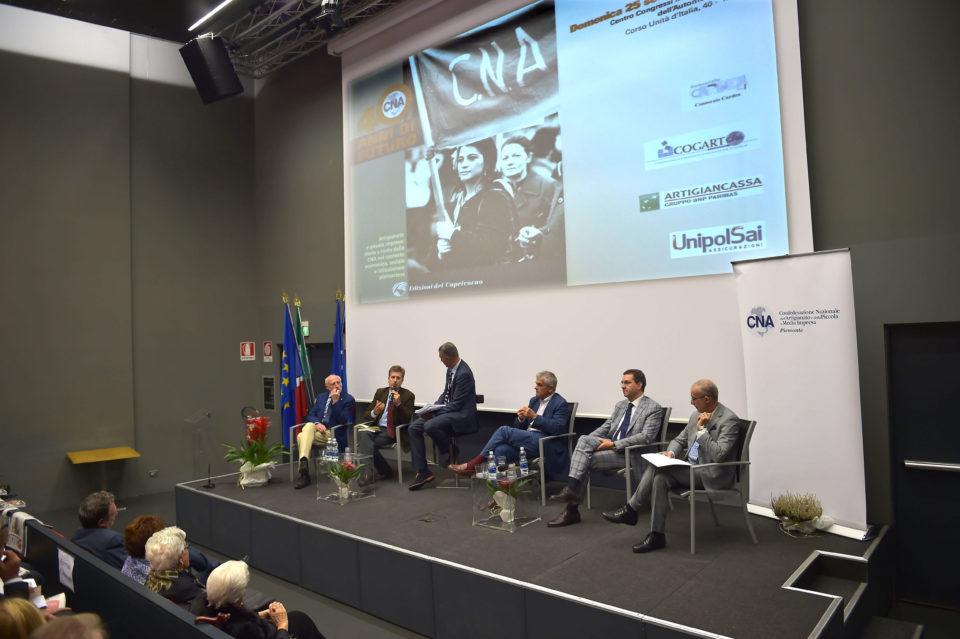 """Torino 25 09 2016 Museo dell'Automile di Torino Convegno e presentazione del libro """"40 Anni di Futuro CNA"""""""