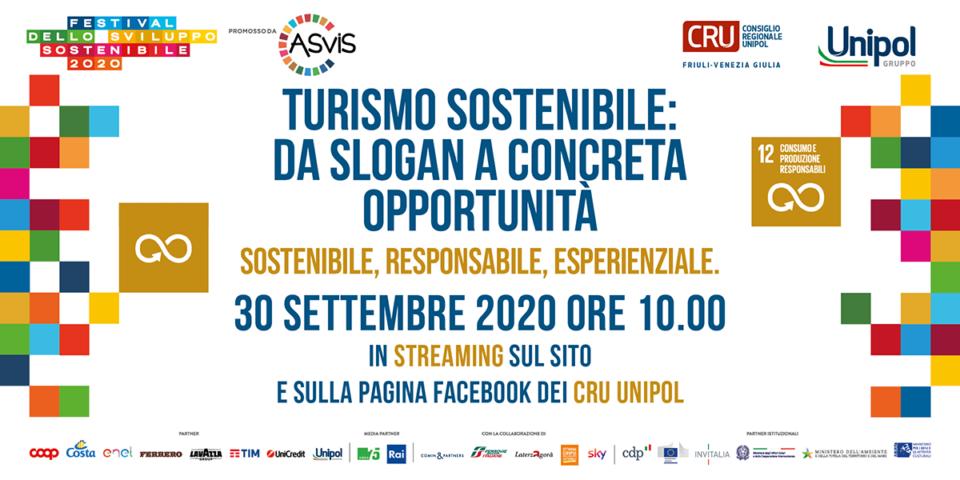 Un nuovo turismo in Friuli-Venezia Giulia - Cru per lo sviluppo sostenibile