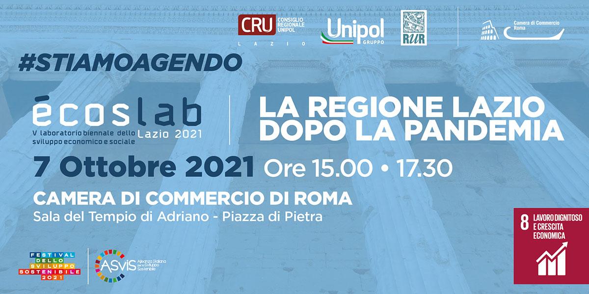 CRU 2021 Asvis Lazio - La regione lazio dopo la pandemia