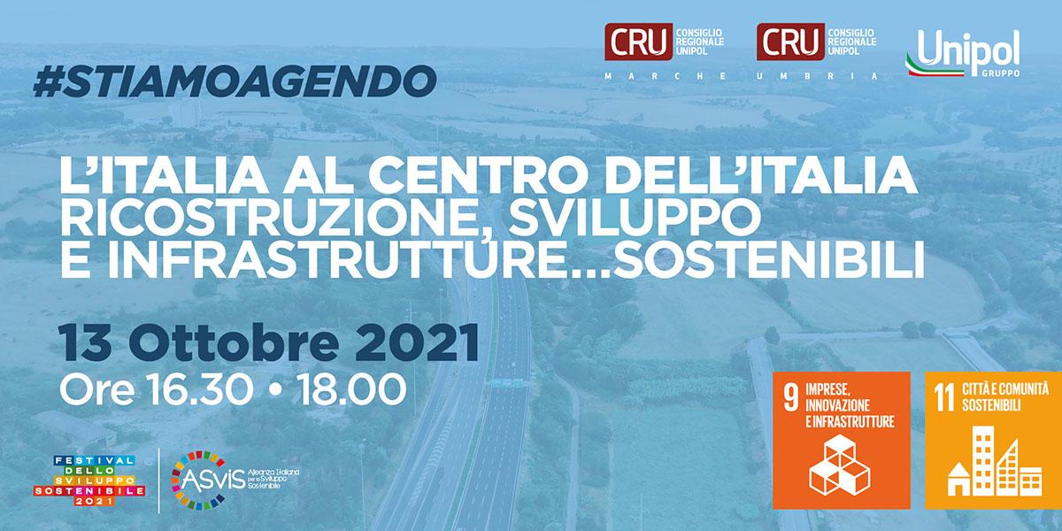 L'Italia al centro dell'Italia Ricostruzione, sviluppo e infrastrutture sostenibili